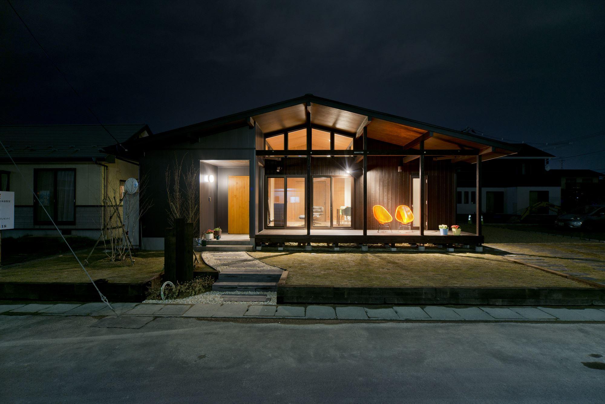 茨城で建てる平屋のかっこいい家